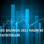 ÜLKE BAZINDA 2017 HAZIR BETON İSTATİSTİKLERİ