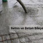 Beton ve Beton Bileşen Deneyleri
